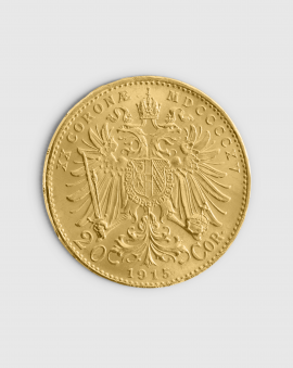 6,1 gram Österrikisk 20 Corona Guldmynt