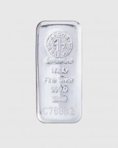 1000 gram Argor Heraeus Silvertacka