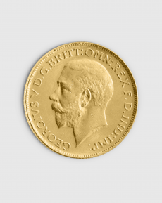7,32 gram Brittisk Sovereign George V Guldmynt