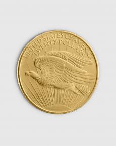 30,09 gram Amerikansk $20 Double Eagle Guldmynt