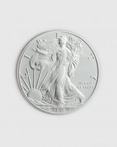 1 oz Amerikansk Eagle Silvermynt