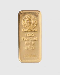1000 gram Argor Heraeus Guldtacka