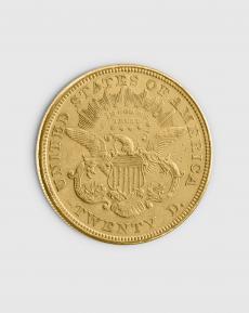 30,09 gram Amerikansk $20 Liberty Eagle Guldmynt