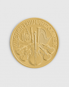 1 oz Österrikisk Philharmoniker Guldmynt