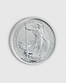 1 oz  Brittisk Britannia Silvermynt