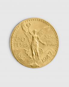 37,5 gram Mexikansk 50 Peso Guldmynt