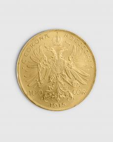 30,49 gram Österrikisk 100 Corona Guldmynt
